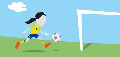 Har du en dotter i Västerås född 2012 som vill prova på att spela fotboll?