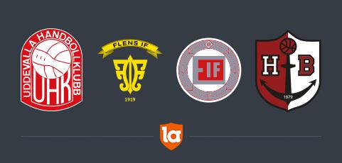 laget.se 💛 Flens IF, Edsbro IF, Uddevalla Handbollklubb och Höganäs Basket